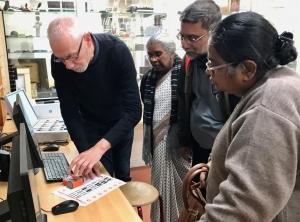 Bezoek uit India - IMG 7666 - Mendelcollege