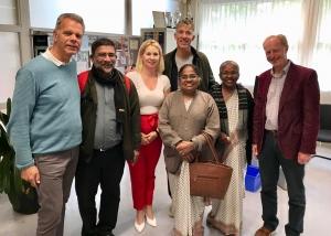 Bezoek uit India - IMG 7674 - Mendelcollege