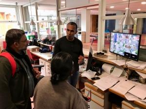 Bezoek uit India - IMG 7680 - Mendelcollege