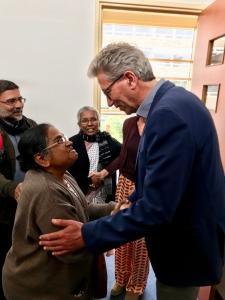 Bezoek uit India - IMG 7700 - Mendelcollege