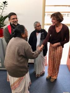 Bezoek uit India - IMG 7701 - Mendelcollege