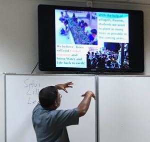Bezoek uit India - IMG 7803 - Mendelcollege