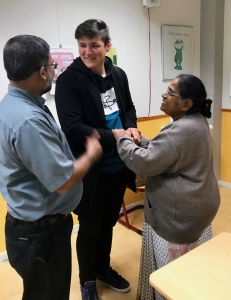 Bezoek uit India - IMG 7825 - Mendelcollege