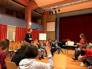 Onderbouw debatdag - 1 - Mendelcollege